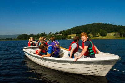 Glan-llyn course for Pontypridd district schools