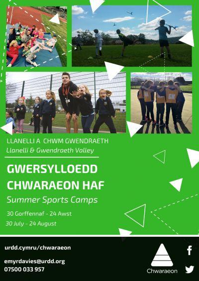 Urdd Sports Camp (Gwendraeth)