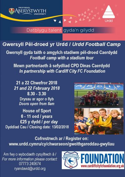 Urdd Football Camp