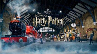 Taith i stiwdios Harry Potter