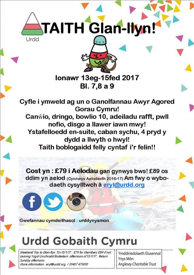 Penwythnos Glan-Llyn, Talaith y Gogledd