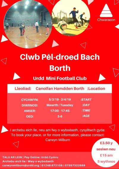 Menai Bridge Mini Football Club Age 3 to 6