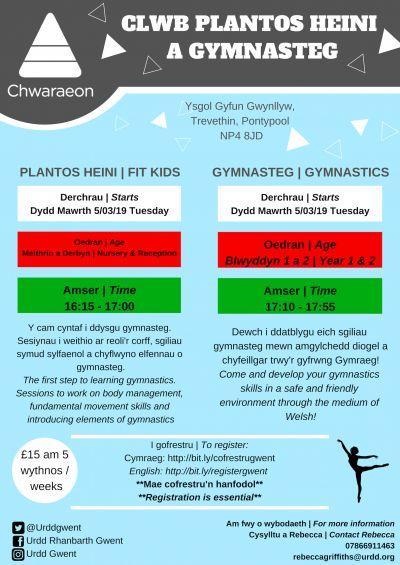 Fit Kids and Gymnastics (Gwynllyw)