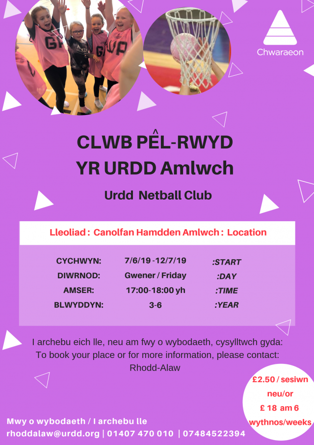 Clwb Pel-Rwyd Amlwch BL 3-6