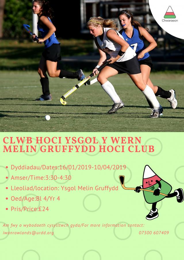 Clwb Hoci Melin Gruffydd Bl 4